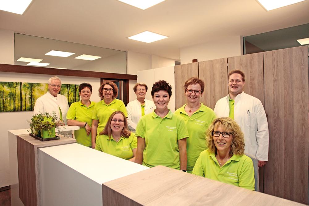 Hausarztpraxis Hovestadt – Team